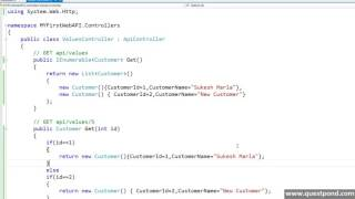 Model view controller videos How to implement MVC Web API  3