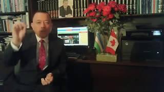 Исмат Хушев билан юзма юз 24 май   2019 йил   Канада