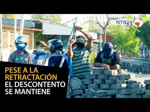 Represión y censura: hechos que alimentaron la tensión en Nicaragua