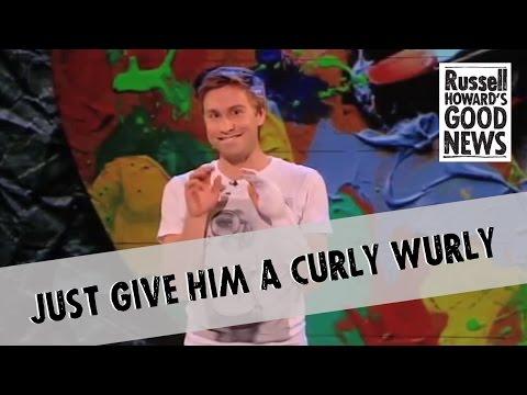 Gave my anus curly wurly