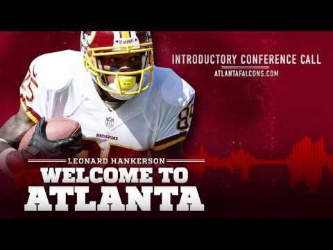 Newest Falcons Chat with Media