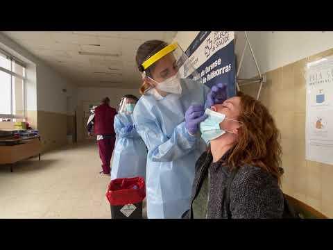 Coronavirus. Ourense reduce casos y suma un ingreso 10/06/2021