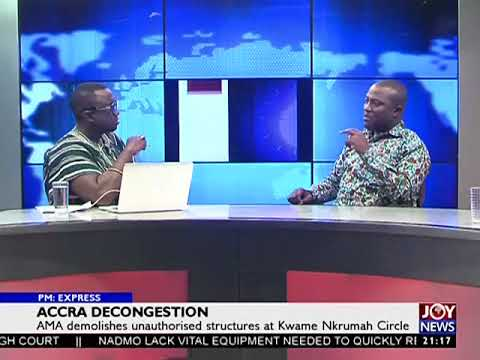 Accra Decongestion - PM Express on JoyNews (11-1-18)