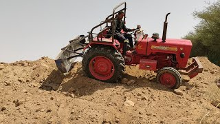 Mahindra 575di tractor stuck on the dunes, how the driver torn his eyes and removed the tractor p.-2