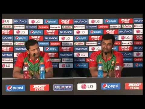 Live Post Match Press Conference Bangladesh v Scotland - Nelson