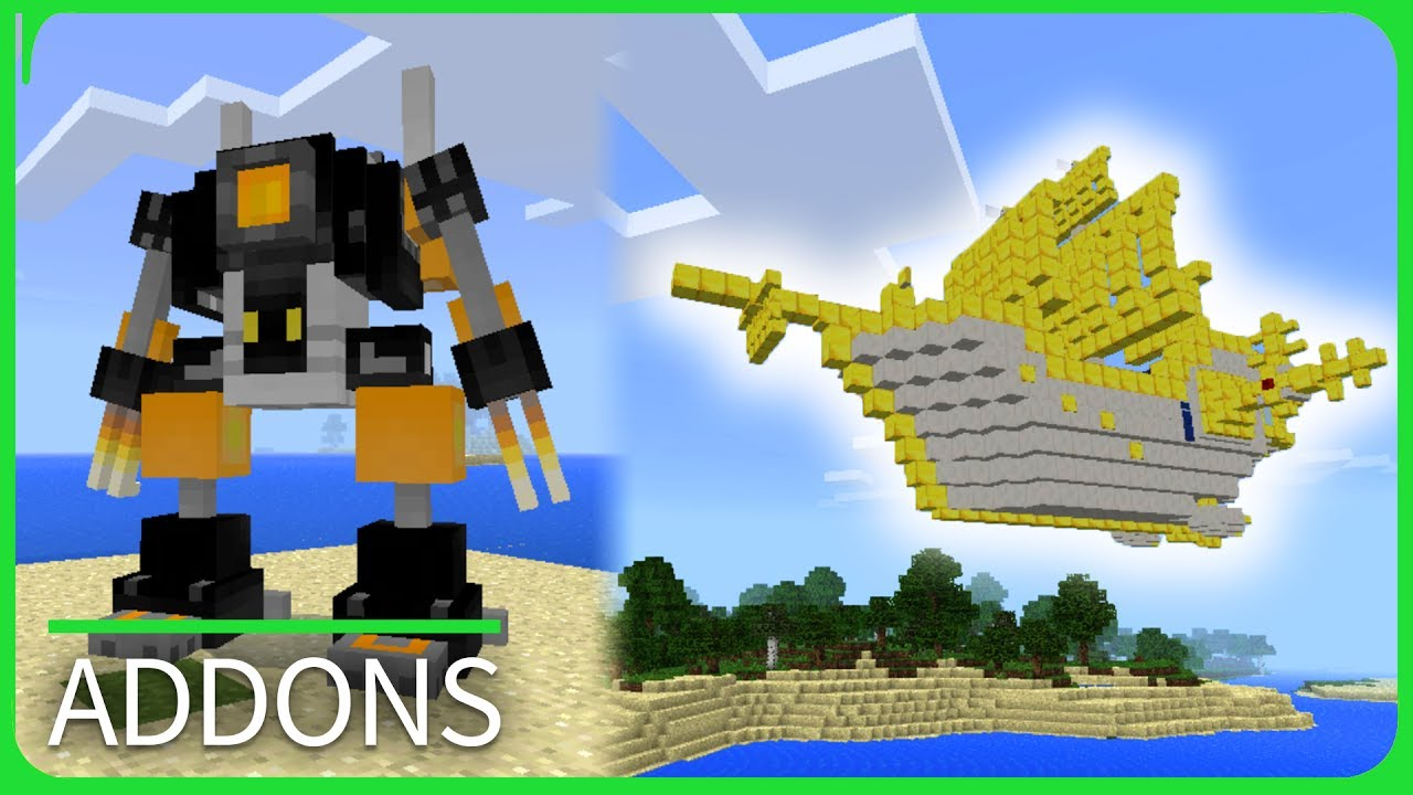 Best Minecraft Addons Pe