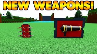 *NEW* PISTOLS AND HAND HELD CANNONS! | Build A Boat For Treasure ROBLOX