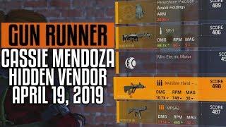 The division 2 cassie mendoza 04 26 19 location april 26 2019