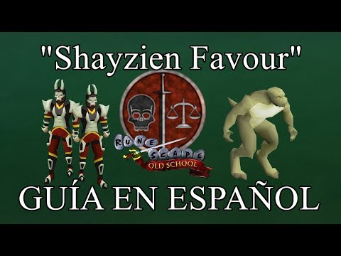 [OSRS] Shayzien House Favour (Español)