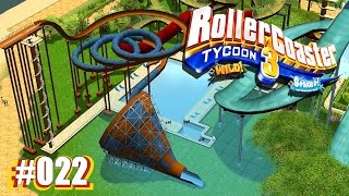 Rollercoaster Tycoon 3 [Soaked] [Wild] #022 - Anbau einer H2O Rutsche ★ Let