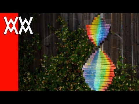 Make a wind spinner. Easy and fun DIY project.