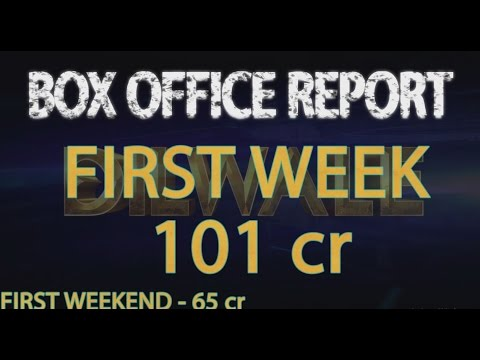 Dilwale box office prediction | First Week- 101 cr |  Second weekend dilwale collection