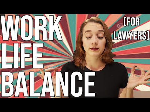 Work Life Balance For Attorneys (TOP 3 TIPS!)