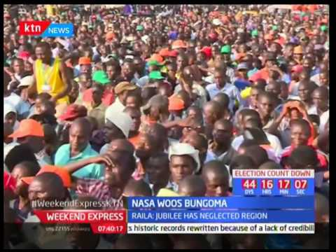 NASA woos Bungoma : The principals welcomes the court ruling