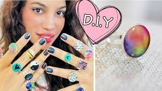 DIY GLUE RINGS?!