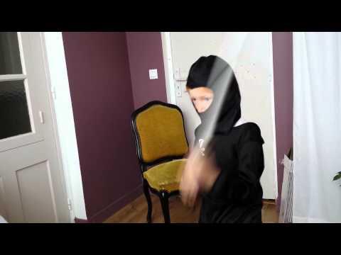 Entraînement Du Ninja Noir