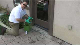 How to apply a color enhancing sealer to pavers: part 1