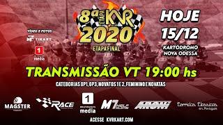 KVR Kart 2020 - FINAL - 8º Etapa Nova Odessa