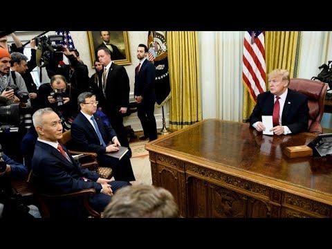 Trump hails 'tremendous' progress in talks to end China trade war Mp3