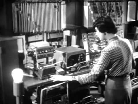 Morse Code on a Telegraph: Telegram for America (1956) - CharlieDeanArchives / Archival Footage