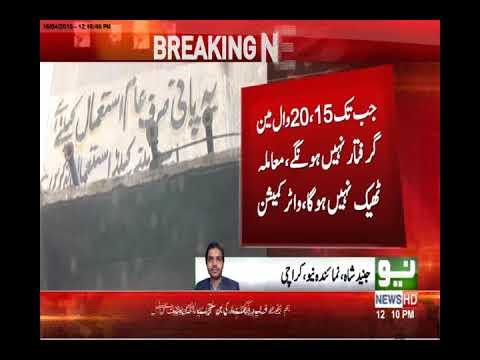 Karachi water issue | Neo News