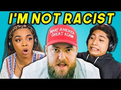 TEENS REACT TO IM NOT RACIST