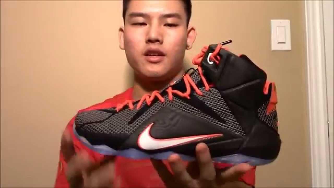 sale retailer 687b5 6e163 Nike Lebron 12