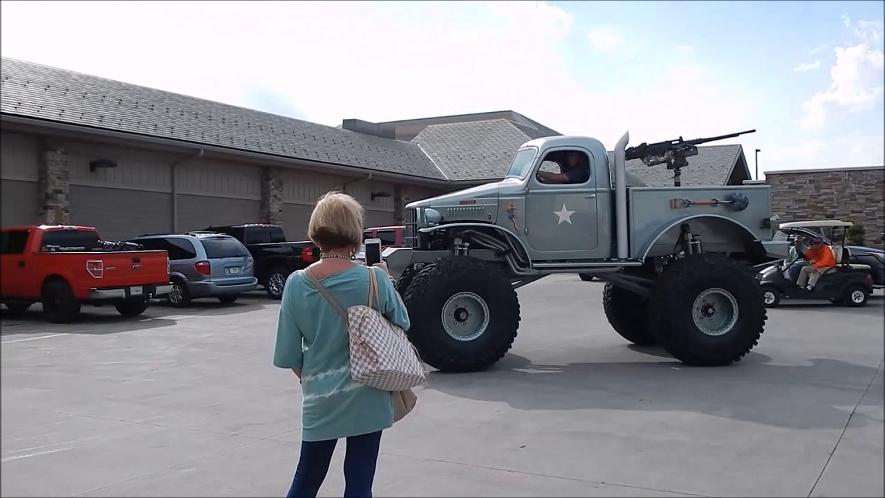 check  sgt rock stacey davids  dodge military  ton  custom build youtube