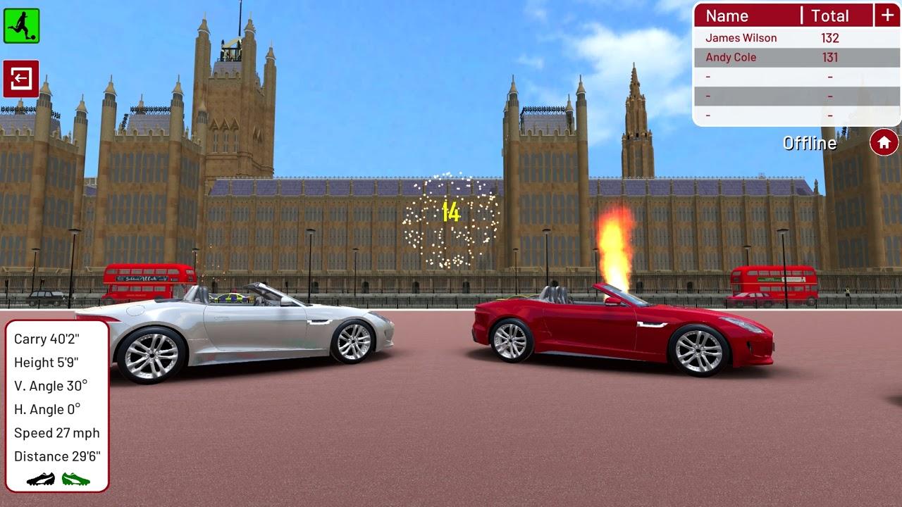 Football Environment - London - Sports Car Challenge