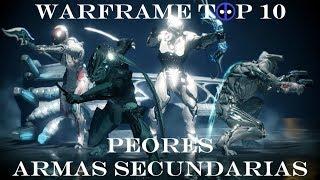 Warframe Top 10 - Las Peores Armas Secundarias.