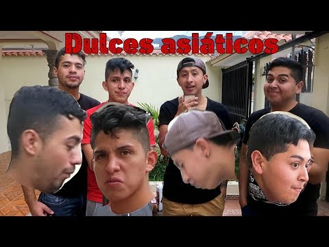 Gualaceños Reaccionan a Dulces Asiáticos - Primera Parte Gualaceo, Azuay, Ecuador