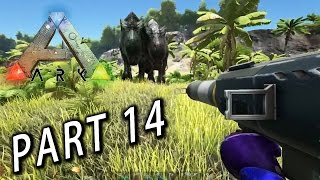 方舟:求生進化 Ark Survival Evolved - Part 14 : 最有爆炸力的一集!
