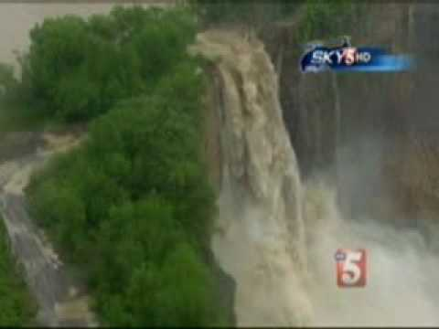 Nashville TN Flood - Quarry Waterfall - News Channel 5, May 2, 2010