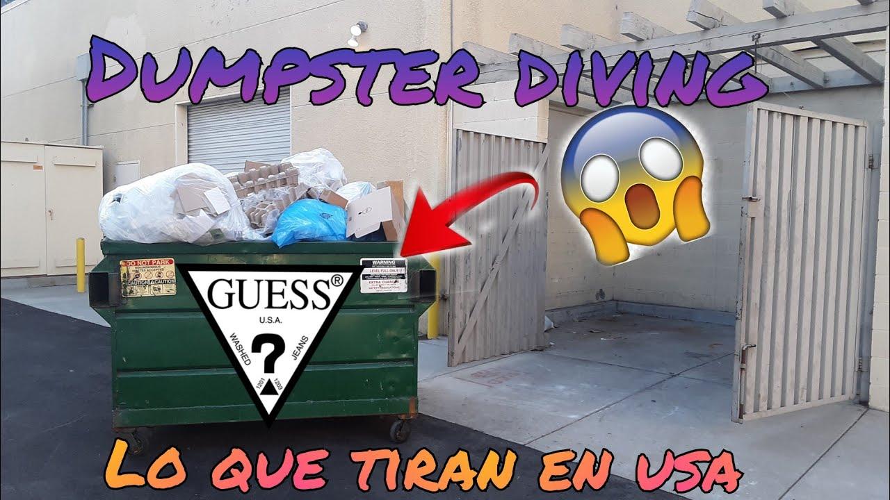 DUMPSTER DIVING / Lo que tiran en USA 🇺🇸🇲🇽   increible lo que tiran a la basura 😱