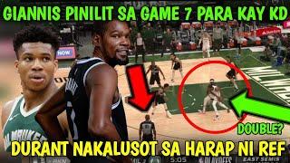 DURANT DRIBBLING VIOLATION PERO WALANG PITO? BUCKS TINALO ANG NETS I nets vs bucks game 6