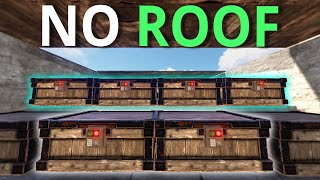LOADED BASE HAD NO ROOF! - Rust Survival 1/4