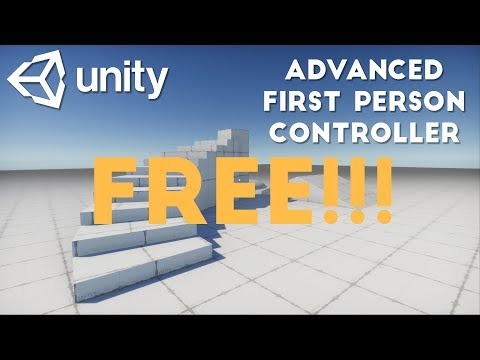 I released my First Person Controller for free on GitHub for