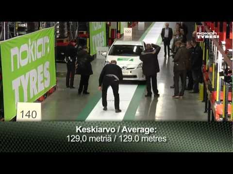 Test valivého odporu pneumatík Nokian - Pneusvet.sk