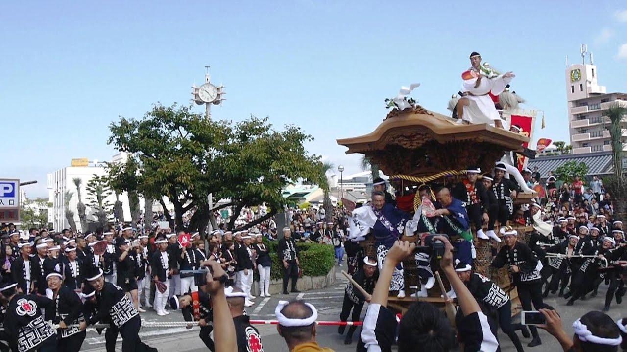 2015年 宮入 こなから坂 岸和田だんじり祭