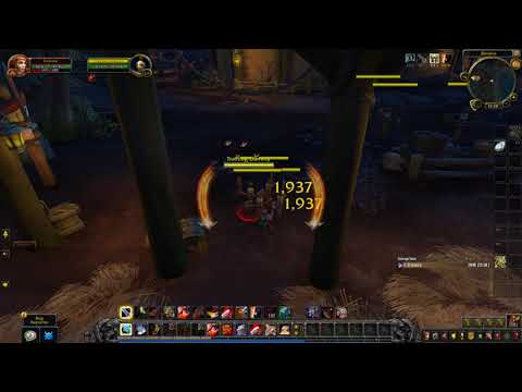 BfA Beta Build 26871 Arms warrior crazy AoE DPS.