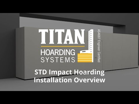 TITAN Impact Hoarding Installation Overview