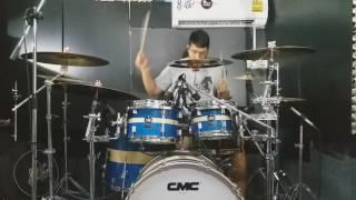 ไหง่ง่อง - ตั๊กแตน ชลดา [drum cover zack]
