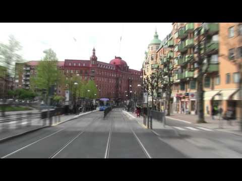 Spårvagn Linje 1 (Tram nr 1 in Gothenburg)