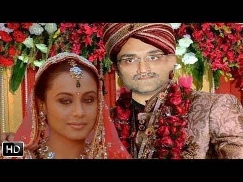 Rani Mukherjee & Aditya Chopra's Kissing scene - YouTube