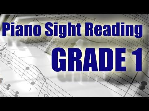 30 Min Of Basic Piano Sight Reading Practice (Grade 1)