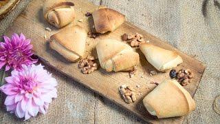 Печенье Уголки с орехами и сухофруктами