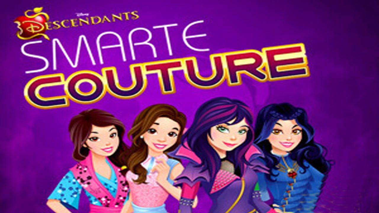 Descendants Smarte Couture Disney Games Dress Up