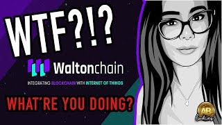 Waltonchain WTC - more like WTF?! - Update On The Altcoin Fiascos