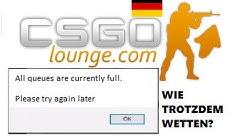 Wetten trotz voller Bots - CSGO Lounge [GER] - Tutorial