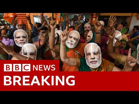 India election results 2019: Narendra Modi takes landslide win – BBC News